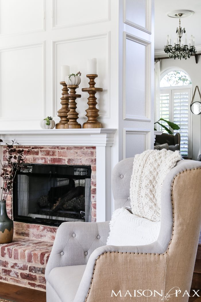 Simple Fall Decorating Tips and Ideas | Mantels decor, Mantels and ...