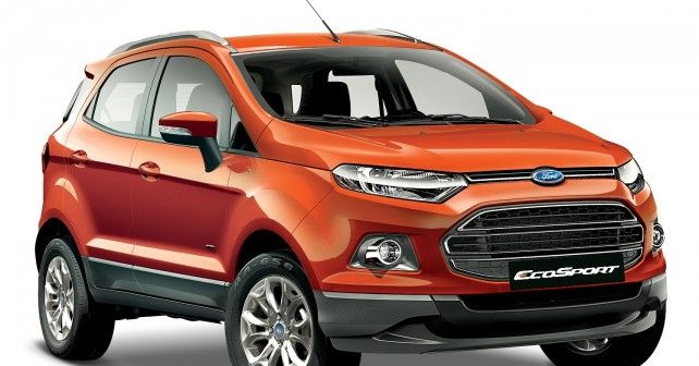 Ecosport To Come With Ford S In Car Communication And