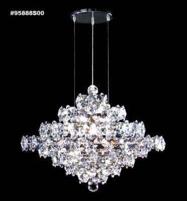 Victors Lighting Calvert Chandelier Crystal