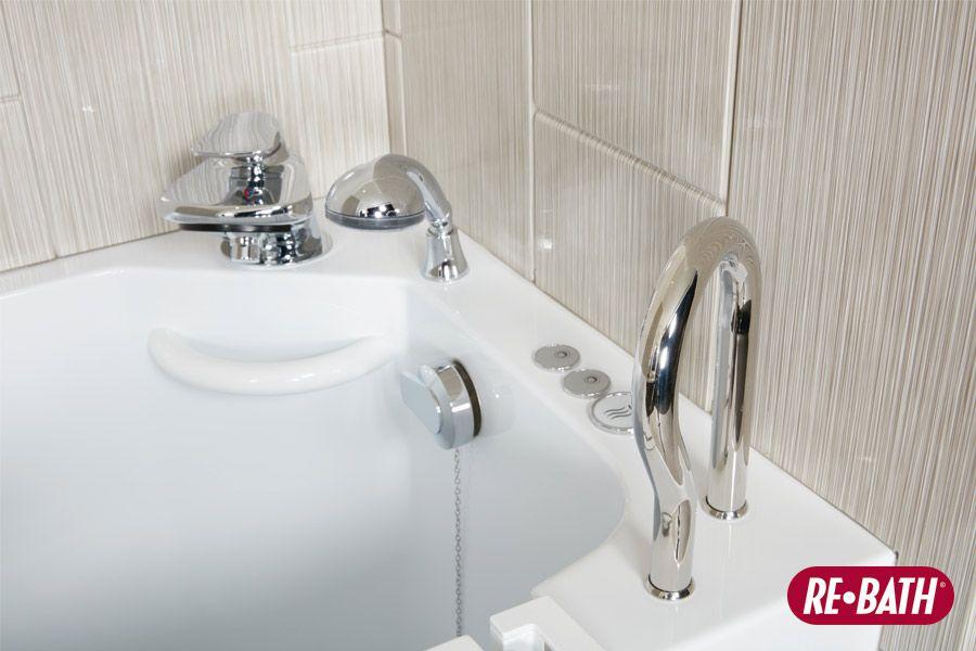 Brushed Linen Ssp Safety Rebath Bathroom Remodeling Re Bath Vignettes Pinterest