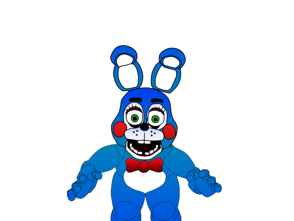 Toy Bonnie Five Nights At Freddy S 2 Colorido By