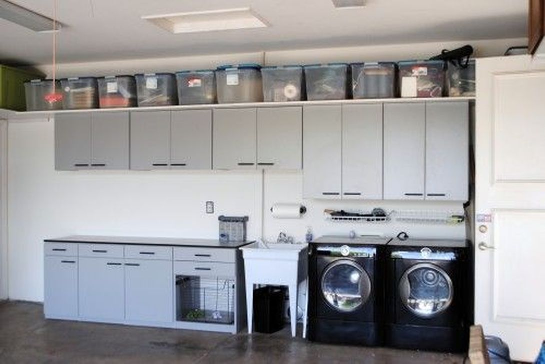 25 Wonderful Laundry Room Makeover Design Ideas  Garage laundry