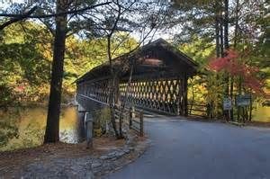 Stone Mountain...Covered Bridge in park