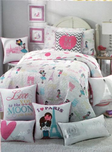 Nicole-Miller-Kids-I-Love-New-York-Paris-Twin-Reversible-3PC-Quilt-Set