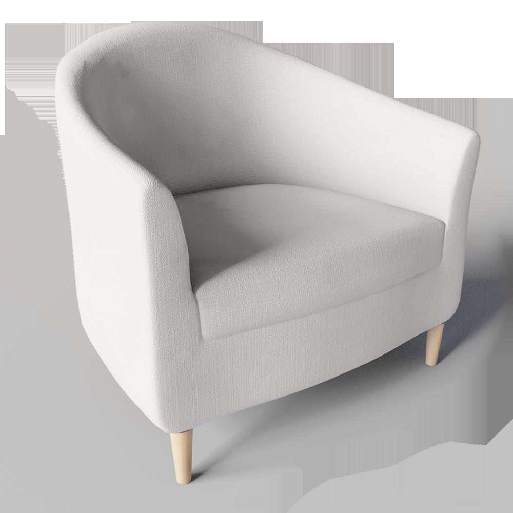 Revit House Design: Tullsta Armchair 3D View (con Imágenes