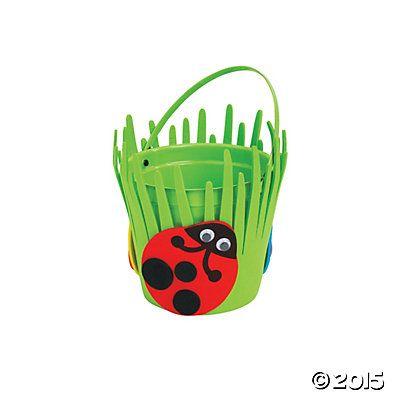 Spring Ladybug Bucket Craft Kit