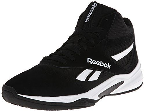 Reebok Mens Pro Heritage 1 Basketball Shoe BlackWhite 12 M US Reebok