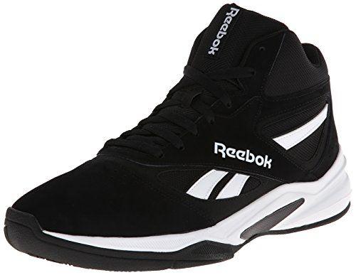 Reebok Men's Pro Heritage 1 Basketball Shoe, Black/White, 12 M US Reebok