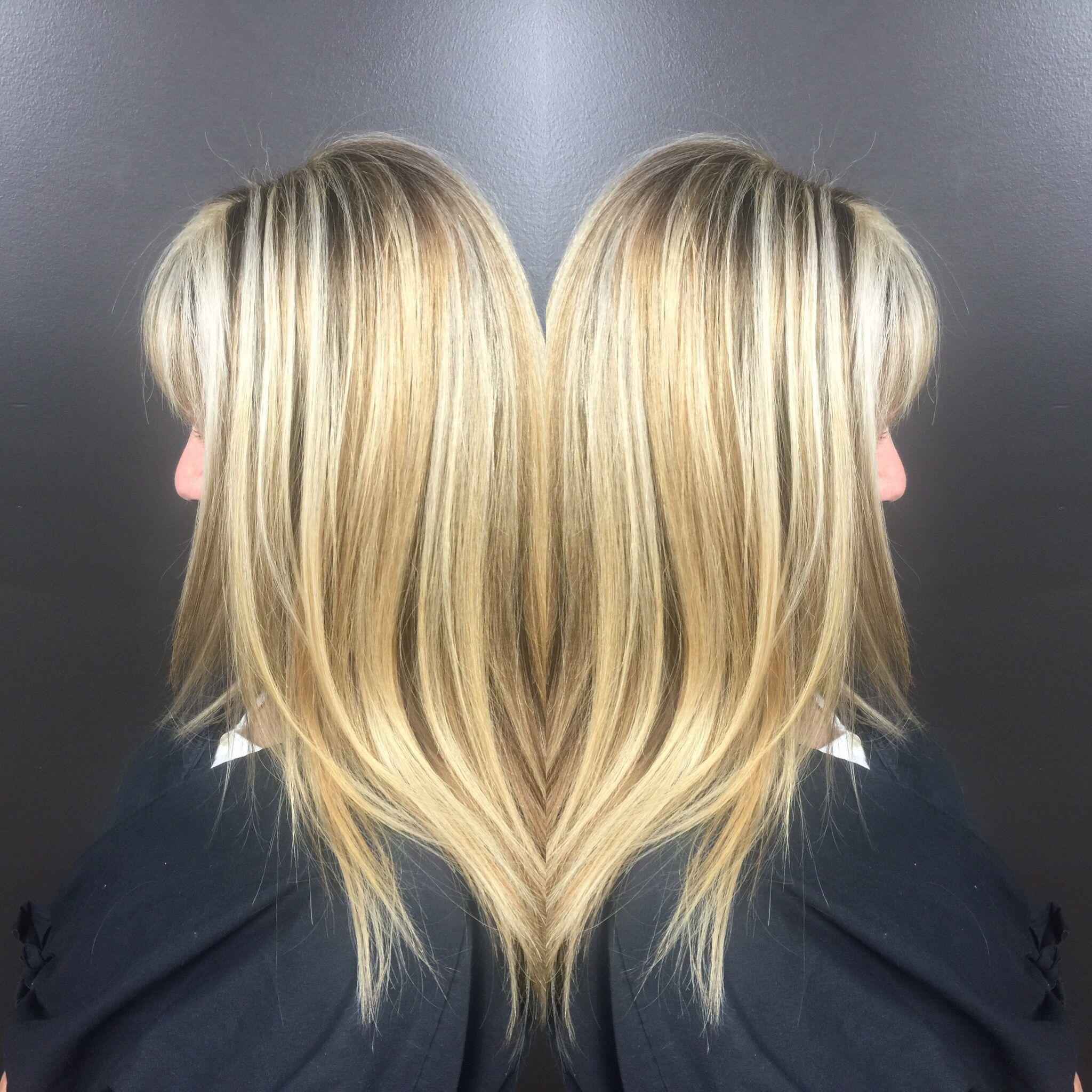 Blonde House Of Aglaia Salon Germantown Tn Long Hair Styles Hair Hair Styles