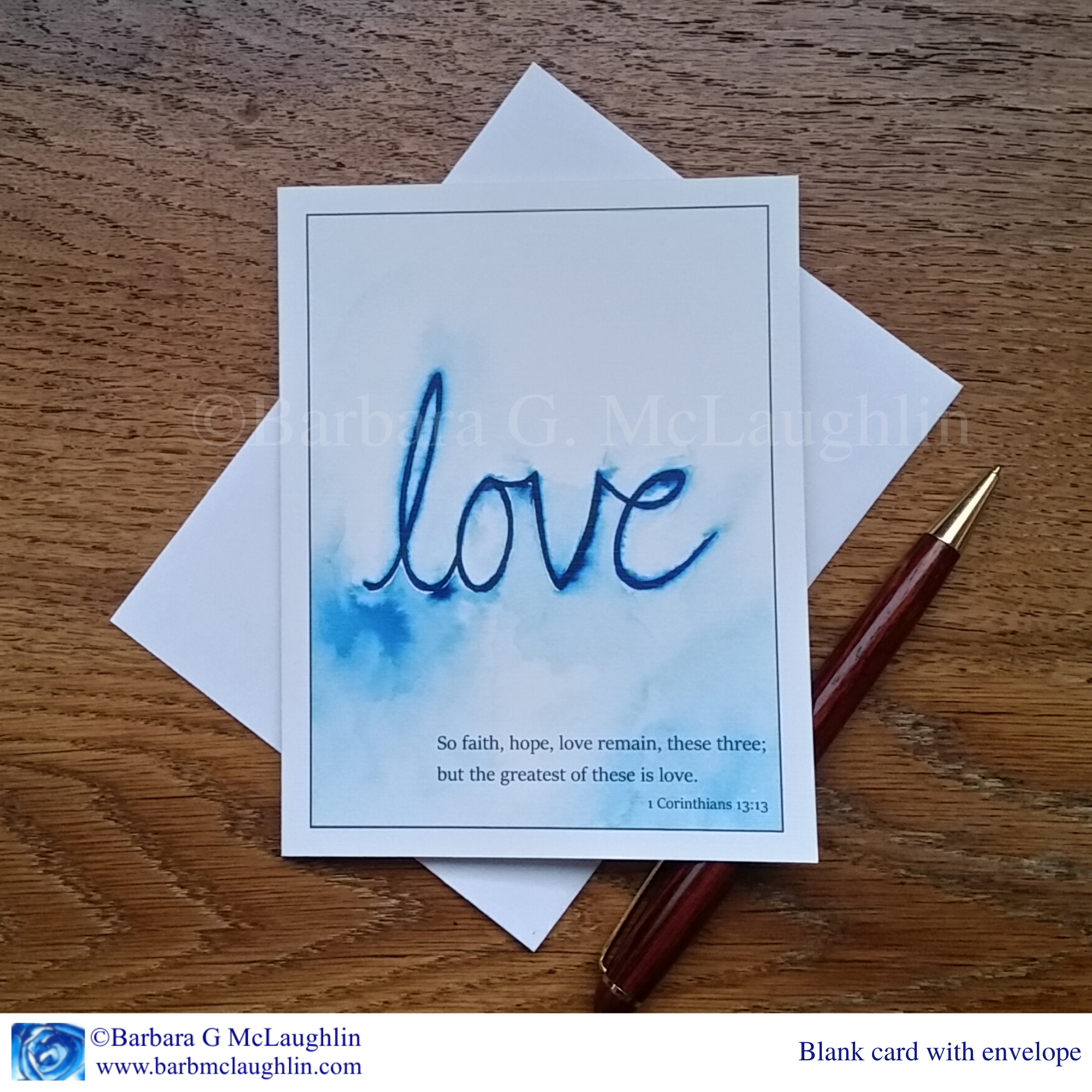 Scripture Wedding Cards with Love Bible Verse 1