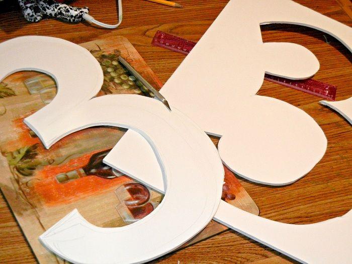 Use Foam Board Foam Letters Balloons Birthday Balloon Wreath