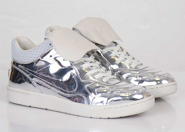 Stuzzicando Socievole In qualsiasi momento  Nike NSW Tiempo 94 Mid SP 'Liquid Silver'   Sole Collector   Nike, Nike  shoes, Shoes
