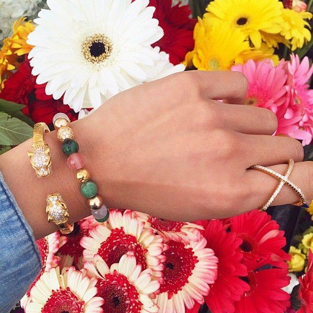 Summer colors  Shop the look on Nialaya.com #nialaya #womensjewelry #spiritualjewelry