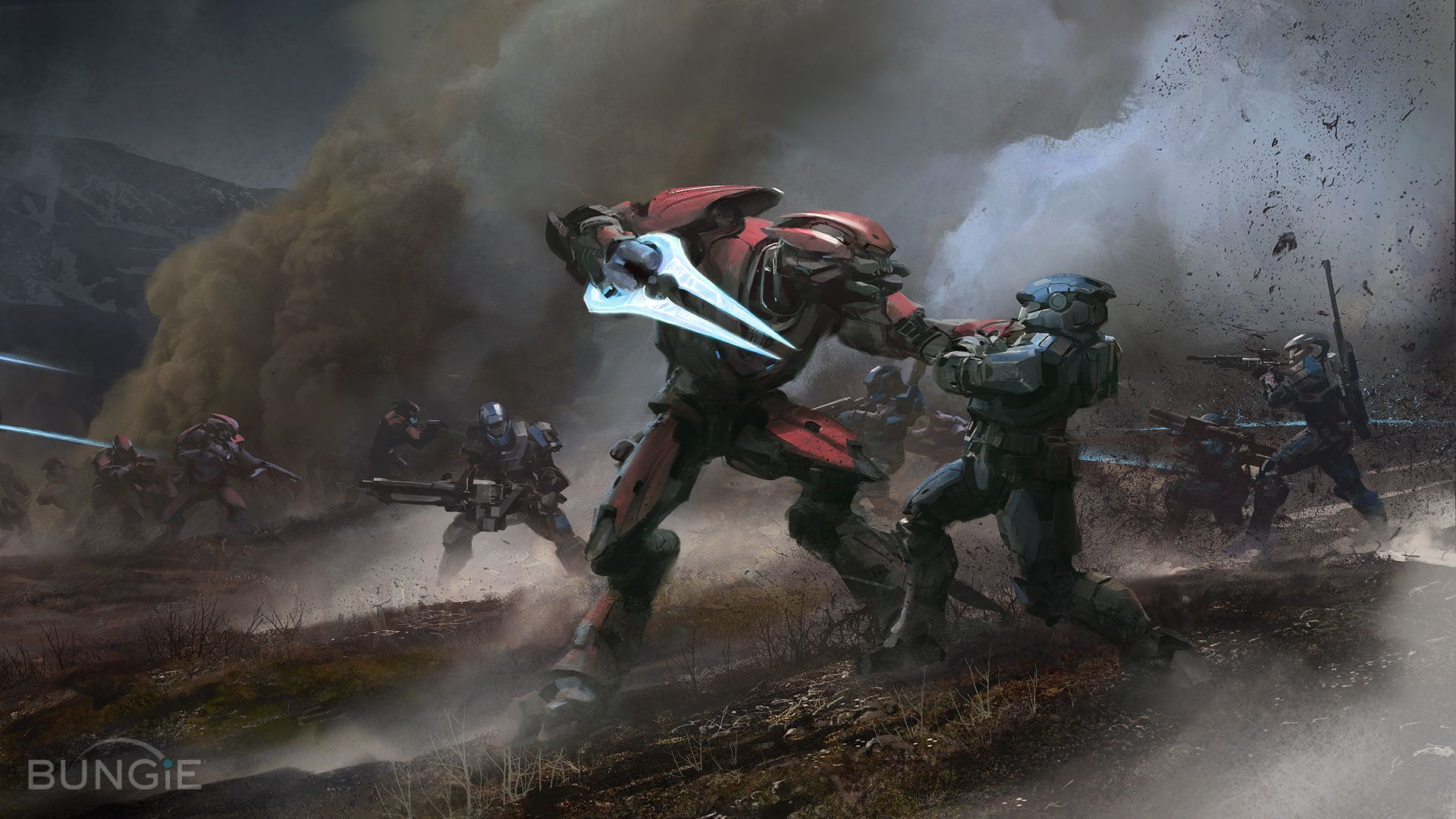 Bungie Concept art for Halo Reach
