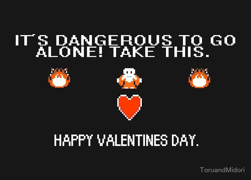 Legend of Zelda Valentines Day cards now in store zelda link – Legend of Zelda Valentine Card