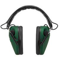 """Caldwell """"E-Max"""" Low Profile Electronic Hearing Protection, Green"""