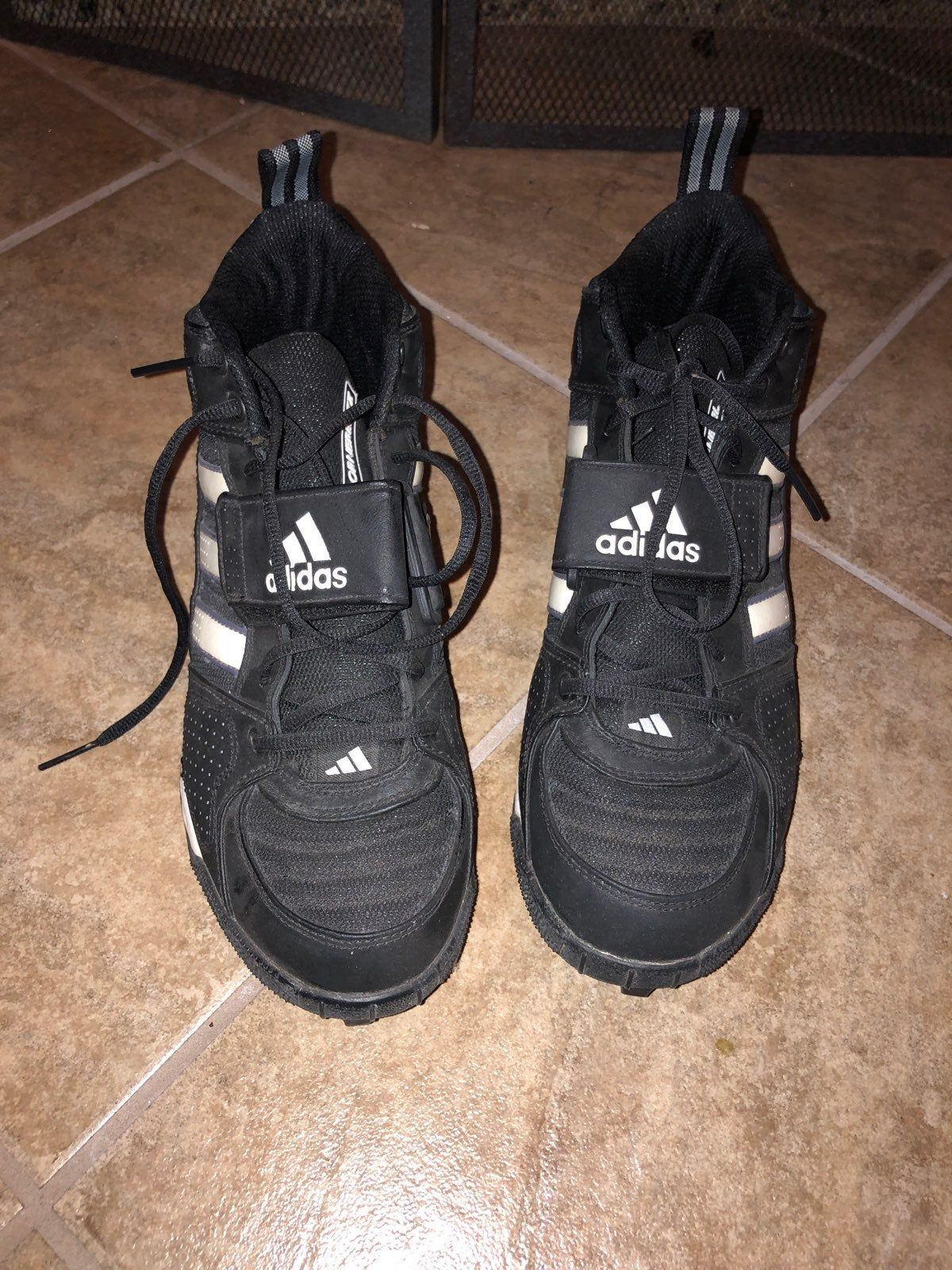 Mens high top cleats great condition size 11 adidas