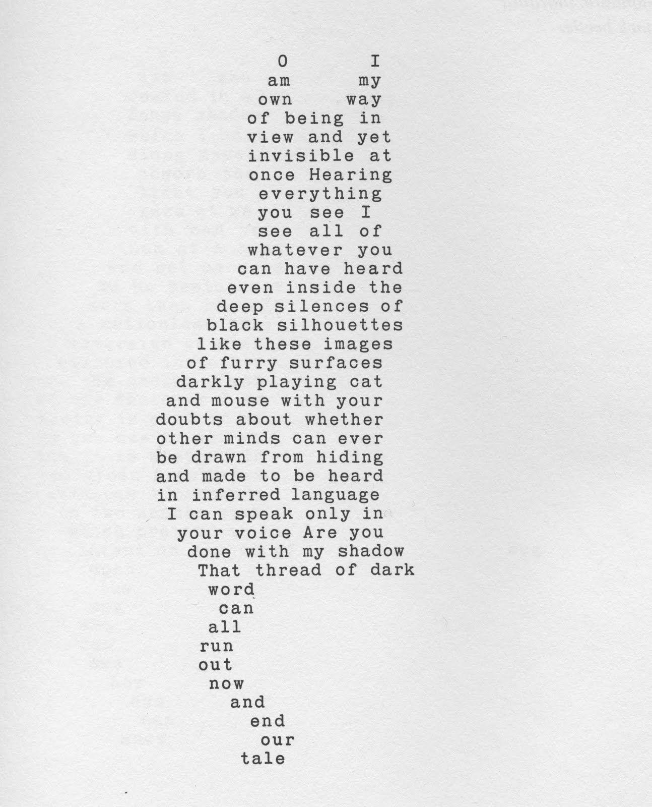 Famous Shape Poems