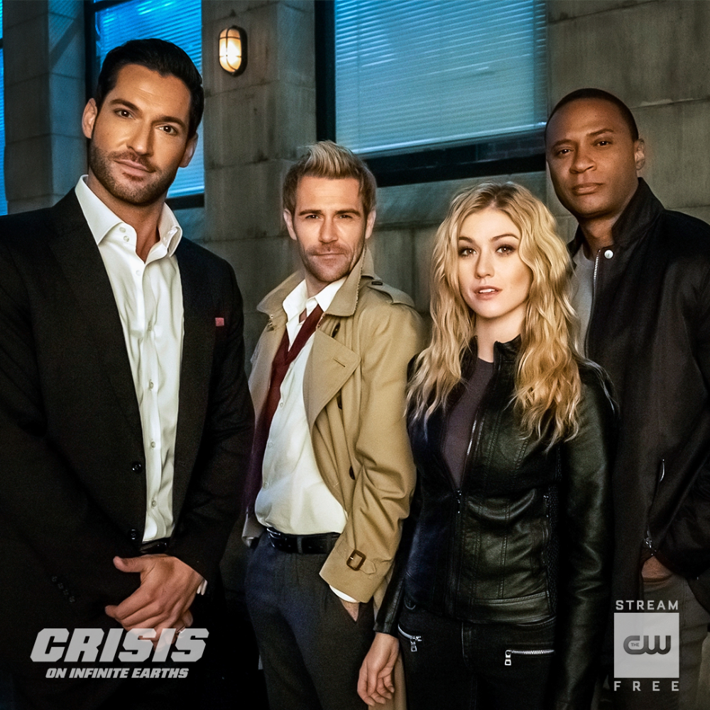 Dc S Legends Of Tomorrow On Twitter In 2020 Constantine Tv Show Infinite Earths Constantine