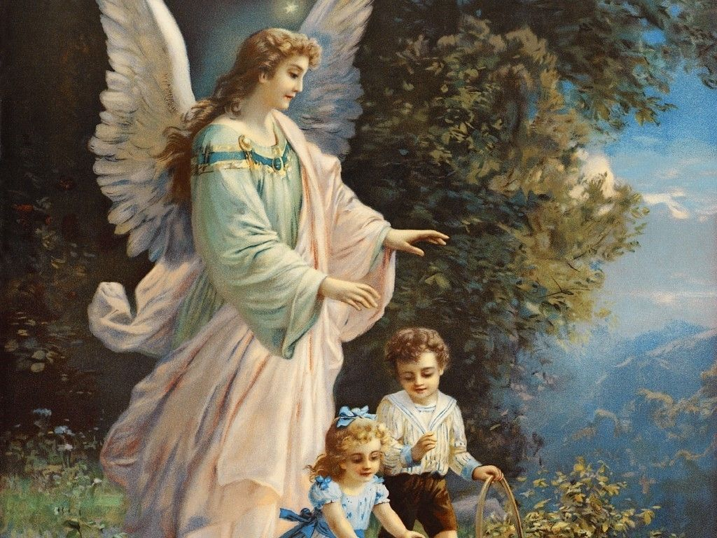 If you wish to please Jesus and Mary, obey your guardian angel's inspirations. How many people in mortal sin were saved from death by their angel, that they might have a chance for confession! Remember that you have an angel as a companion, guardian and friend. -St. John Bosco