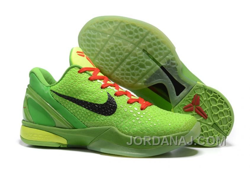 http www jordanaj com nike zoom kobe 6 grinch christmas green mamba basketball shoes free shipping html nike zoom kobe 6 grinch christmas green mamba