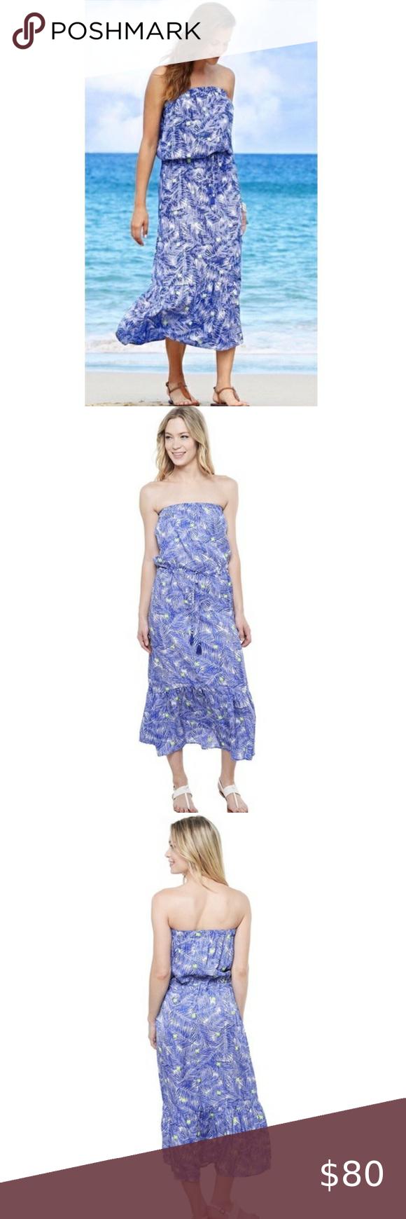 Vineyard Vines Palm Print Maxi Dress Sz M In 2020 Palm Print Maxi Printed Maxi Dress Dresses [ 1740 x 580 Pixel ]