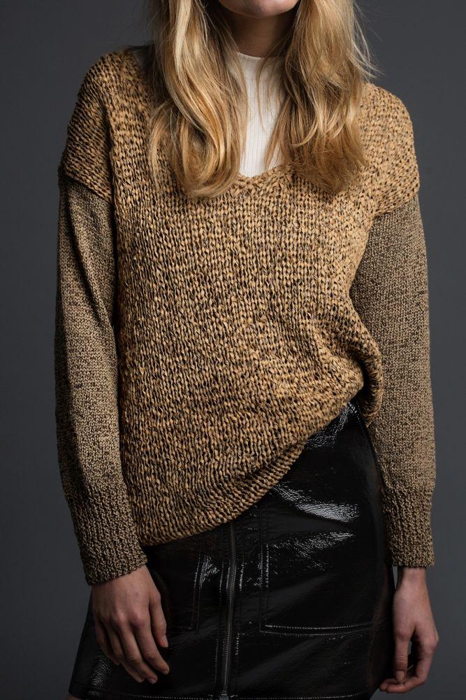 Kostenlose Anleitung: Pullover mit V-Ausschnitt - Initiative ...