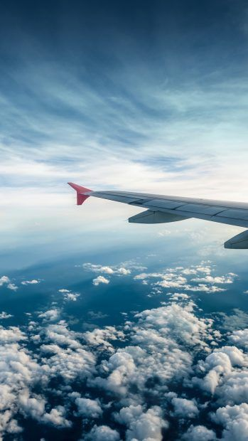 Flying Airplane Iphone Wallpaper Media File Airplane Wallpaper Iphone Wallpaper Travel Airplane View