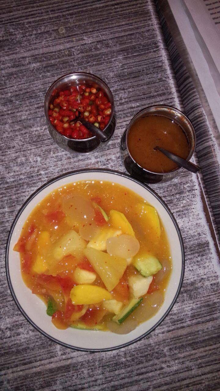 Rujak Aceh Indonesia Resep Fermentasi Indonesia