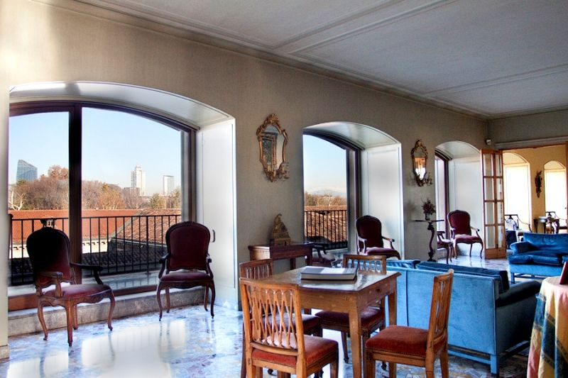 Palatial #Penthouse in the #Fashion District - #Exclusive Heart of #Milan