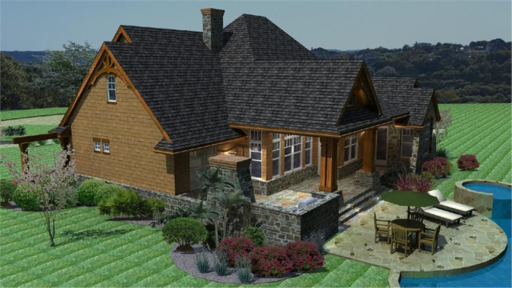 Stunning House Plans With Back Porch Ideas - Best inspiration home ...