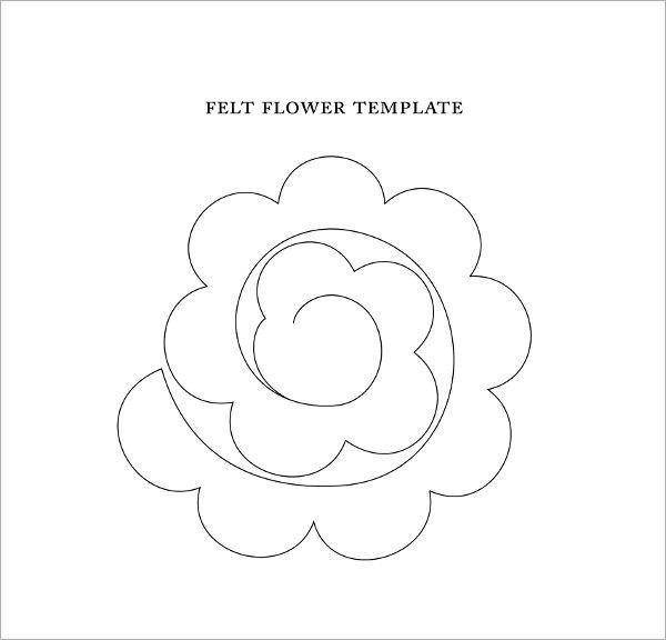 Image result for paper flower template Side Hustle Pinterest - flower petal template