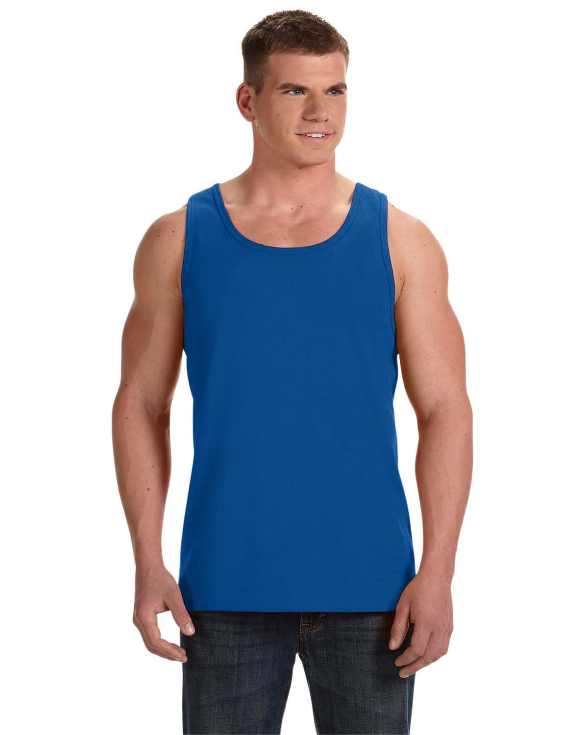 53d307ce64aac4 Fruit Of The Loom Mens Heavy Cotton HD Tank Top 39TKR