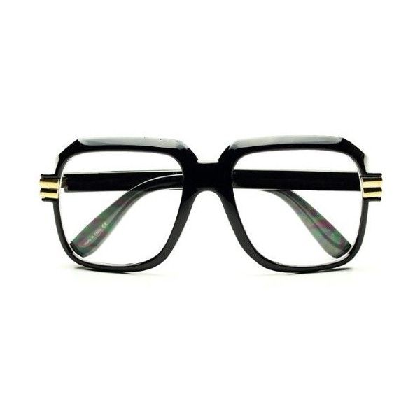f0ac217379 Legendary Run DMC Cazal Style Gazelle Retro Square Clear Lens Eye ...