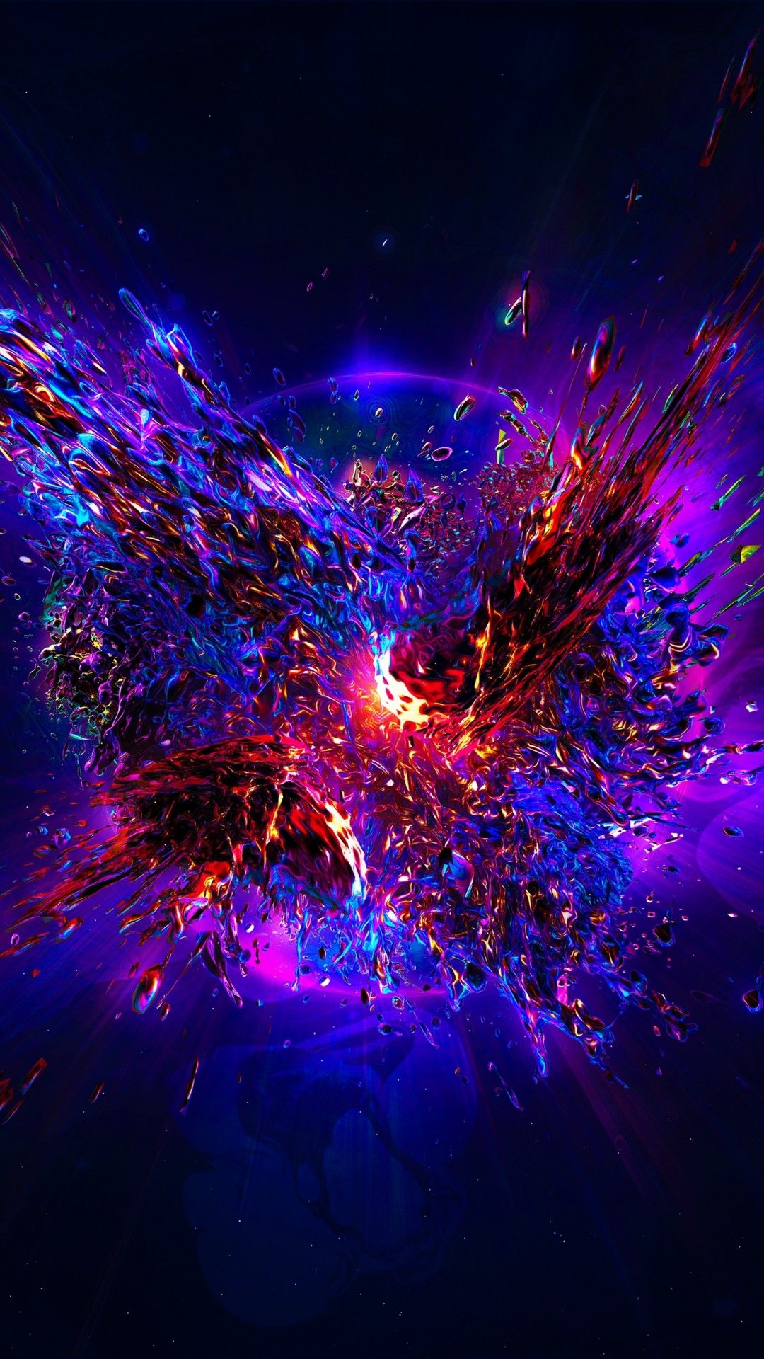 Color Explosion Purple Theme Abstract Iphone Wallpaper Galaxy Wallpaper Cool Backgrounds
