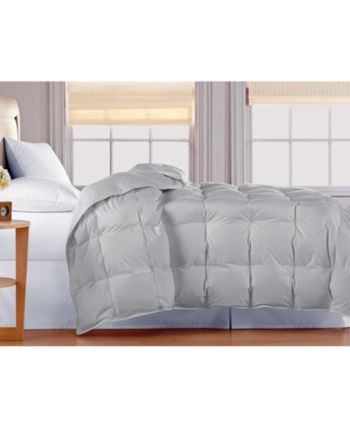 Blue Ridge Oversized White Goose Down Comforter Full Queen Reviews Comforters Fashion Bed Bath Macy S Down Comforter White Down Comforter Mattress Furniture