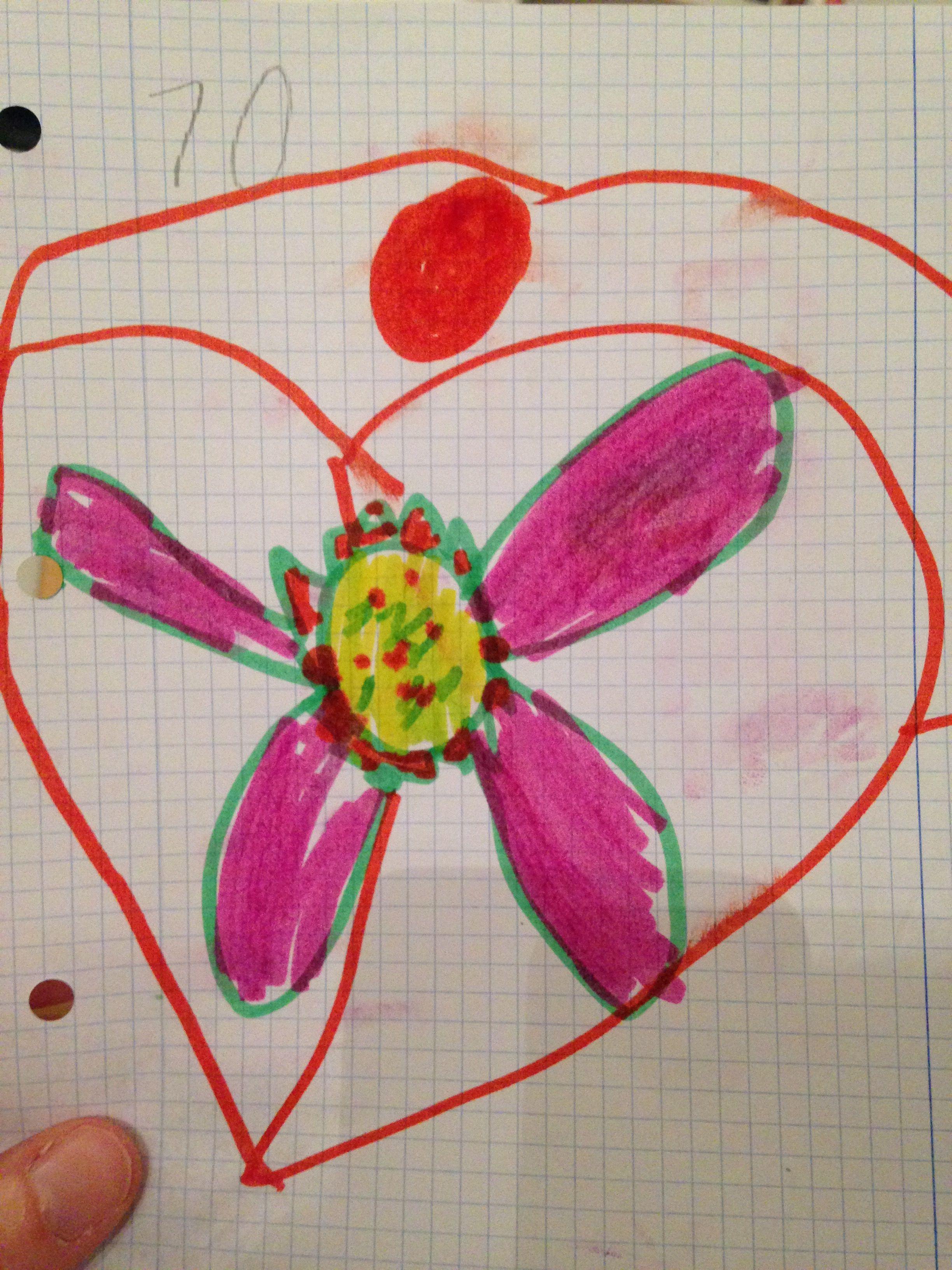 M16, anillo corazón y flor