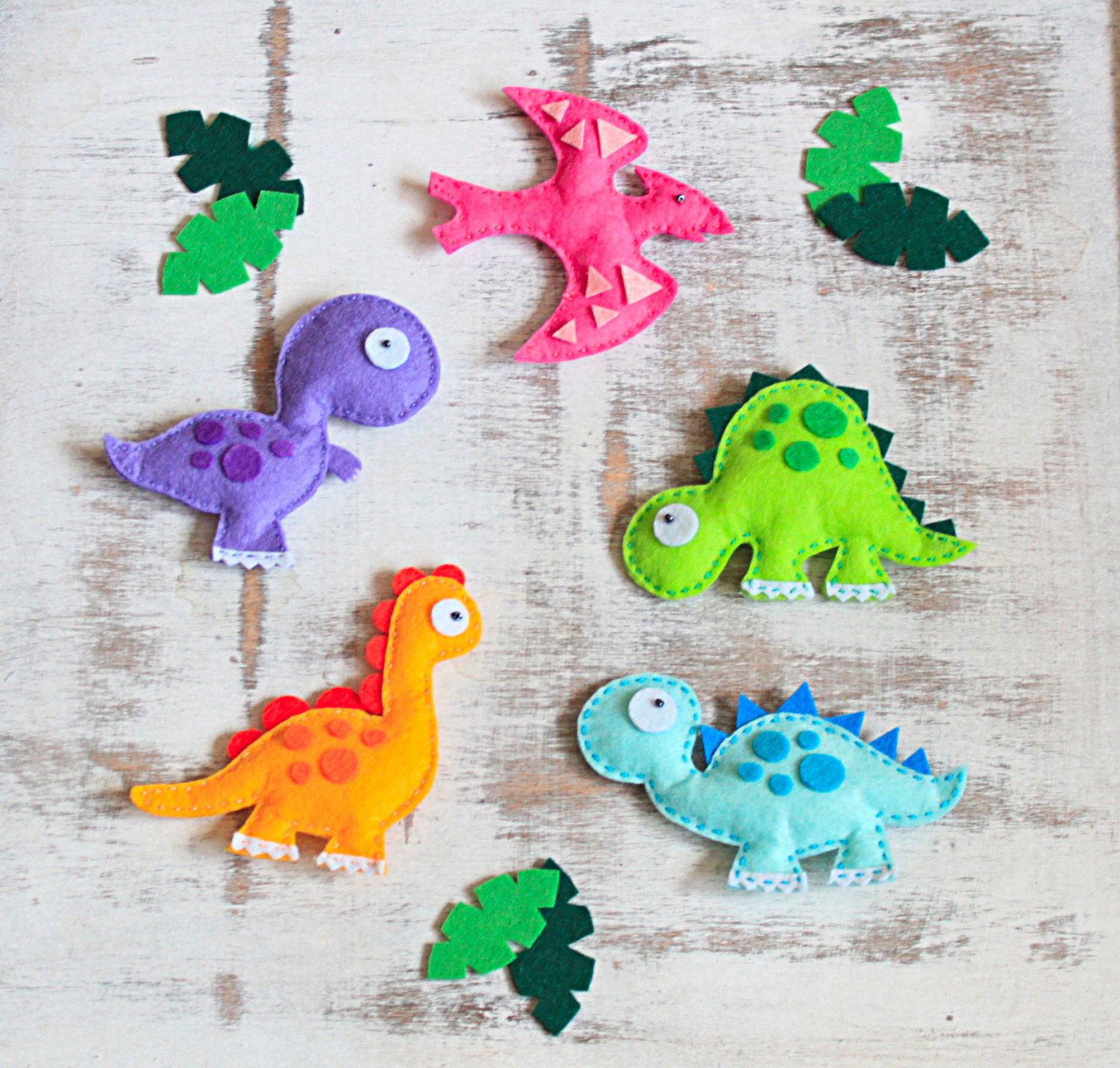 Felt Dinosaur Jurassic World Dinosaur Decorations Plush