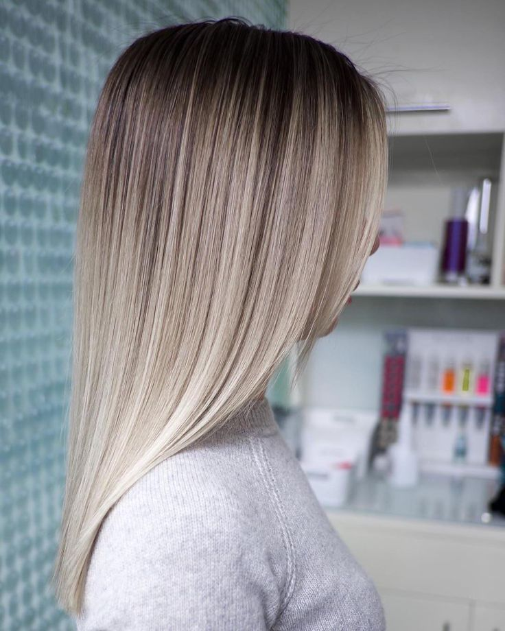 Stylish balayage ombre long hairstyle for women, long hairstyle designs