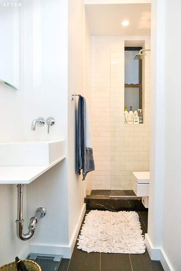 Before And After West Village CoOp Renovation Bathroom Remodels Amazing Basement Bathroom Design Minimalist