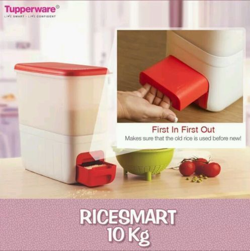Tupperware 10 Kg Rice Keeper Smart Keeper Tupperware Rice Keepers Tupperware 10 Things