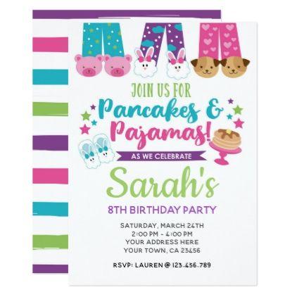invitation bday card