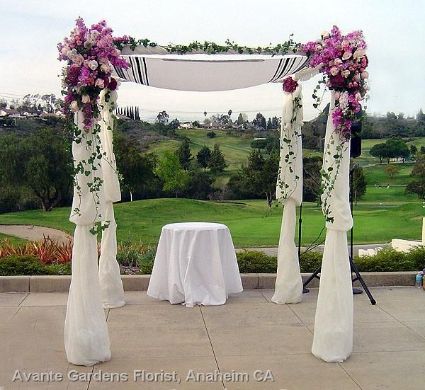 Jewish Wedding Altar Name: Jewish Wedding Ceremony Flowers