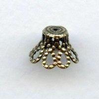 Oxidized Brass - VintageJewelrySupplies.com