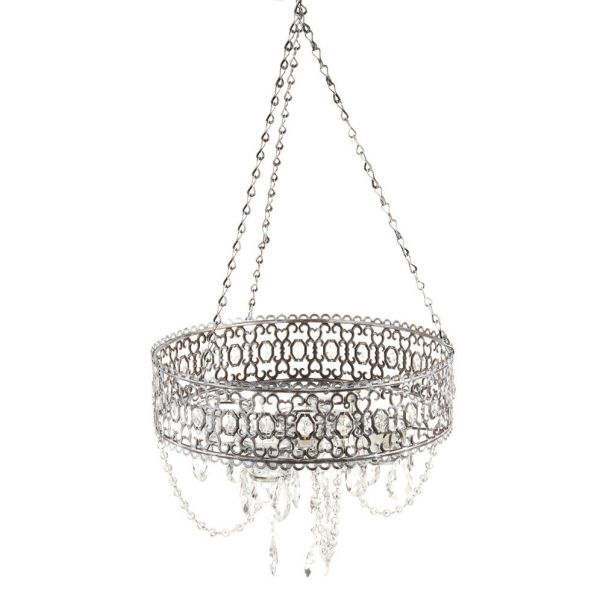 best website 23c44 5a799 non-electric chandelier for over a tub. Uses tea lights ...