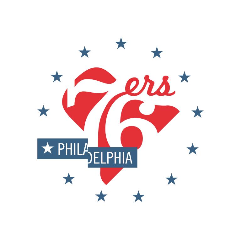 Nba Logo Redesigns Philadelphia 76ers Logo Redesign Nba Logo Sports Team Logos