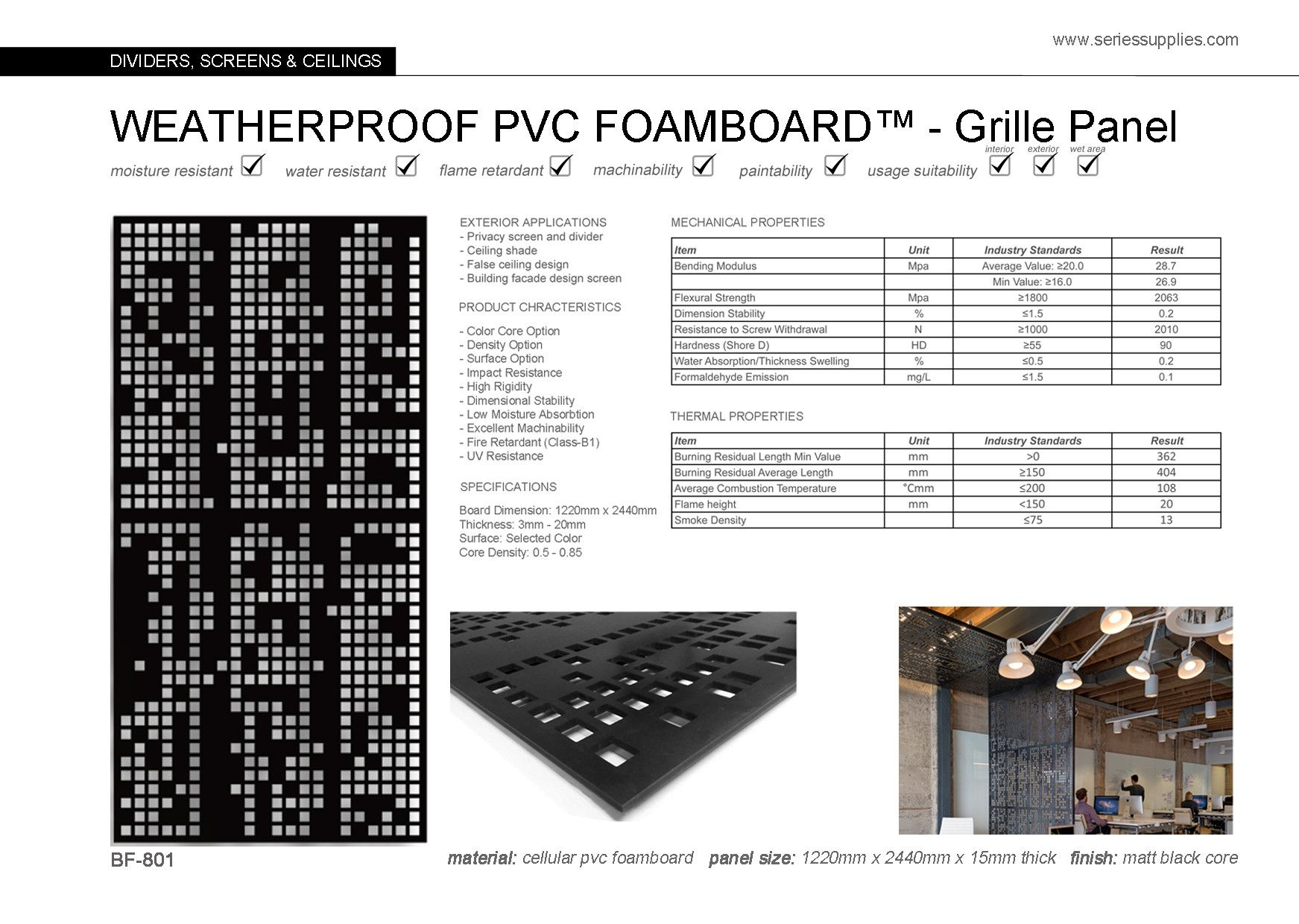 Weatherproof Pvc Formboardcellula Pvc Foamboard Is Used Mainly For Industrial And Manufacturing Purpos Partition Wall Interior Wall Design Textured Wall Panels