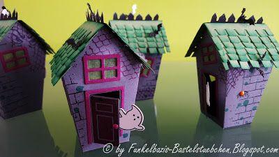 Herbst, Autumn, Home Sweet Home, Ein Haus für alle Fälle,  Halloween, Happy Halloween, 3D Häuschen, stampin up