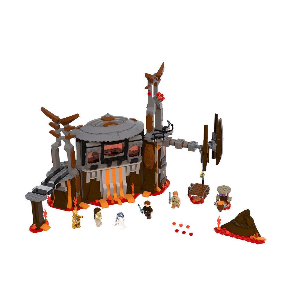 75252 Duel On Mustafar Lego Star Wars Star Wars Film Funny Marvel Memes