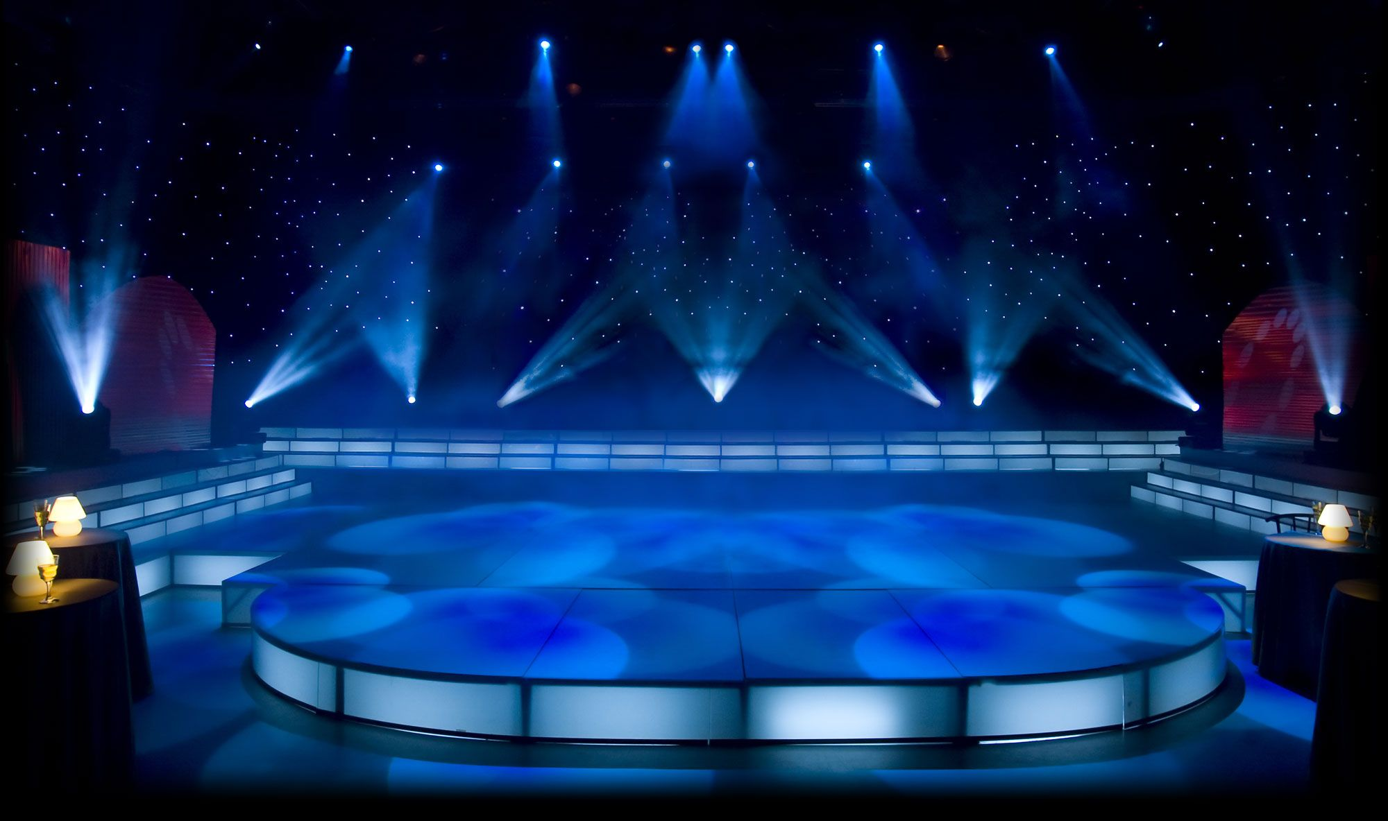 empty stage with spotlight | Concert Stage Background ...